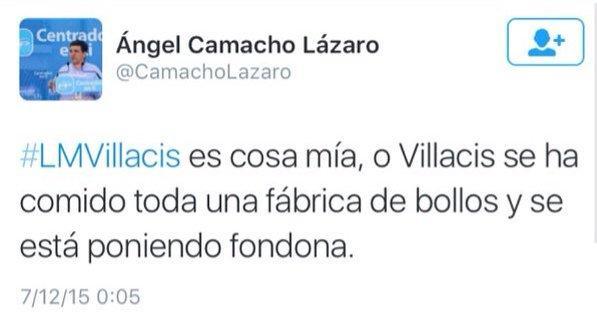 Un secretario general del PP llama «fondona» a Villacís (C's) en twitter y enciende las redes