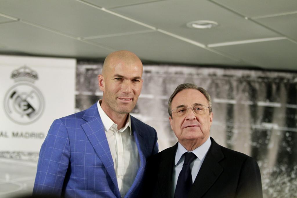 El Real Madrid destituye a Rafa Benítez y Zidane ocupa su lugar