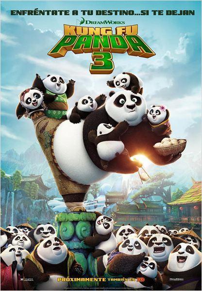La cartelera de cine se renueva con las terceras entregas de 'Kung Fu Panda' y 'Divergente'