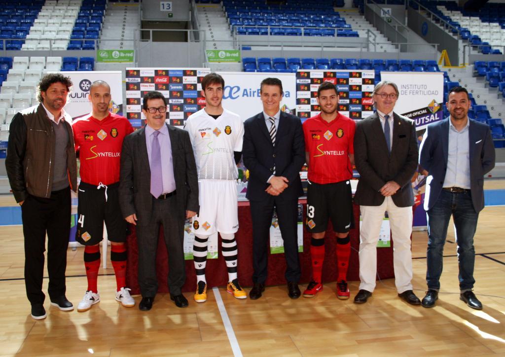 El Palma Futsal lucirá la camiseta del Real Mallorca ante el Barcelona  Lassa para homenajear al a79191ae411d3