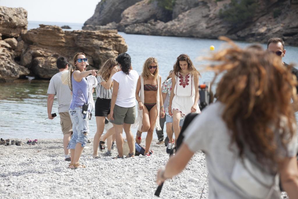 El Corte Inglés graba en Mallorca su última campaña publicitaria