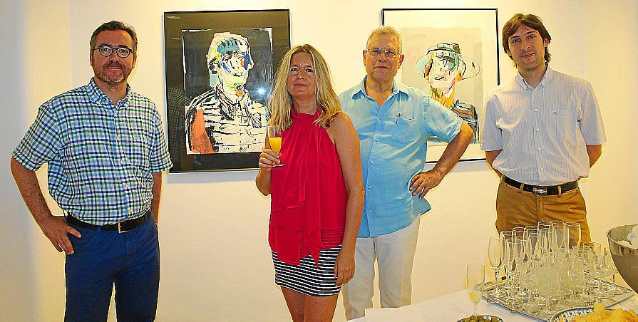 López Davis, en la Galería Vanrell