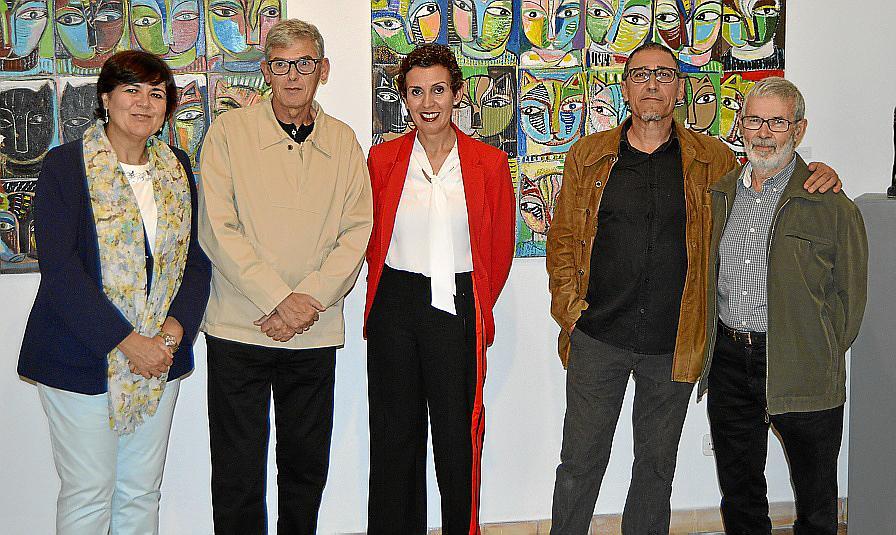 Eduard Vich expone su obra en Pollença