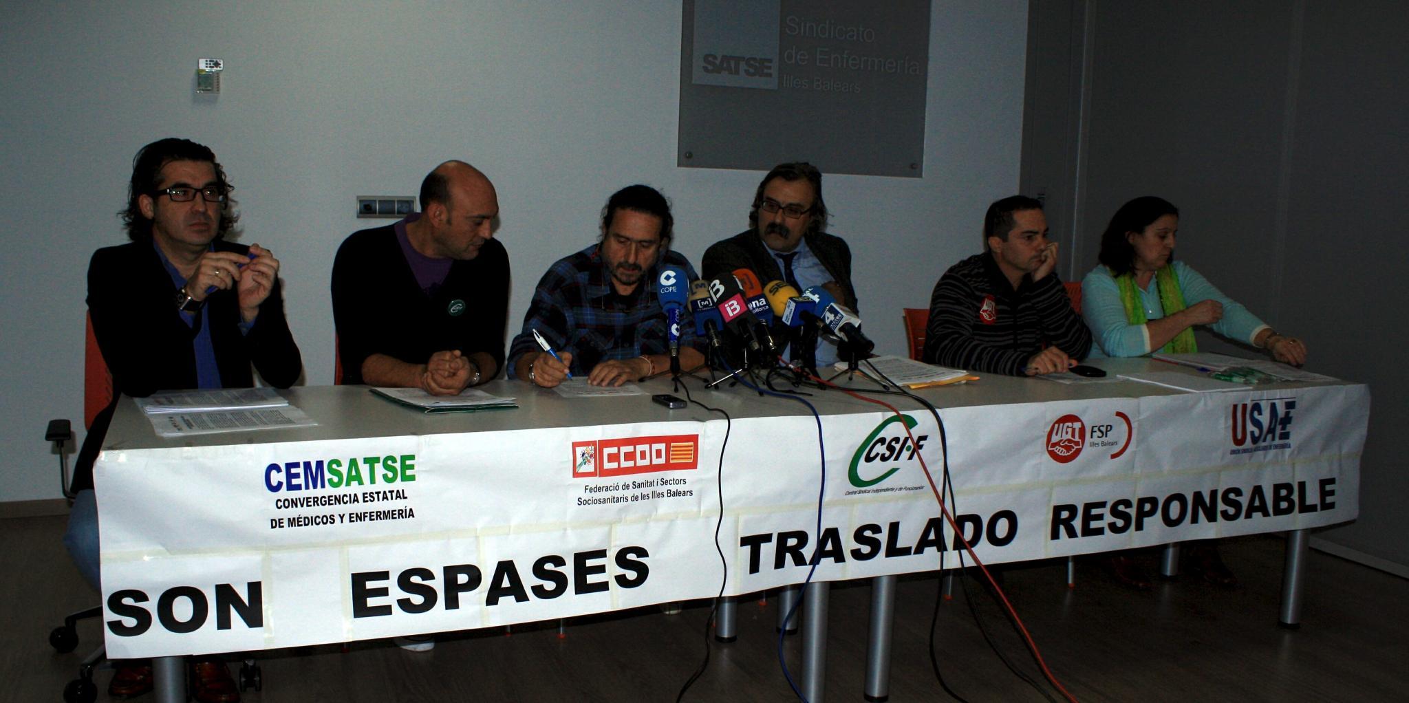 Salut no cambia el calendario del traslado a Son Espases a pesar de las protestas