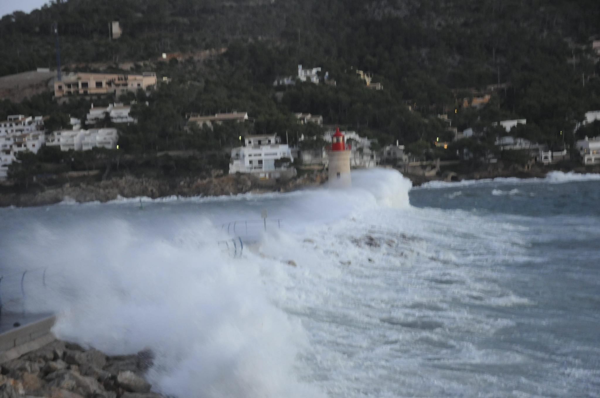 El temporal golpea Mallorca