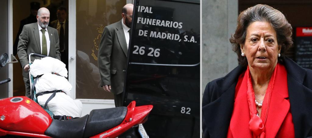 Muere Rita Barberá tras sufrir un infarto en Madrid