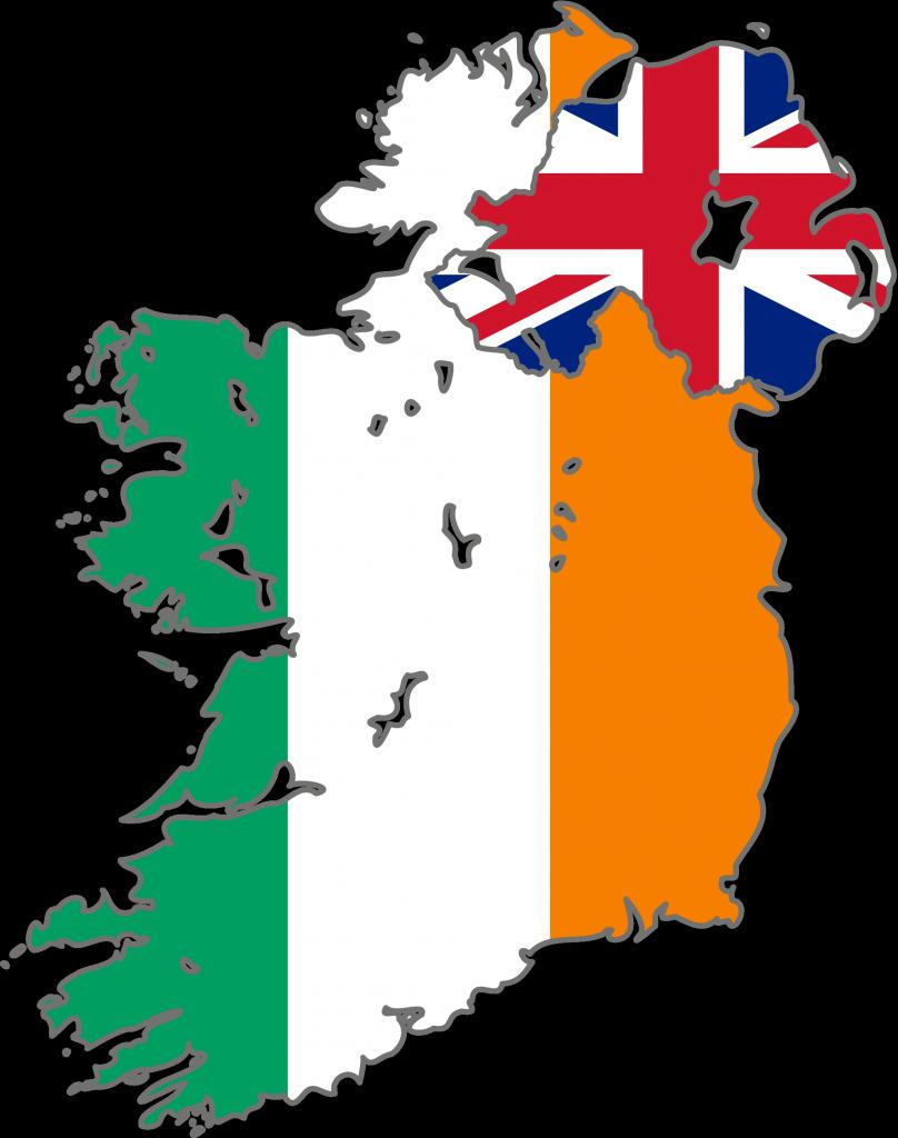 Mapa Irlanda Del Norte.El Sinn Fein Presenta Su Plan Para La Reunificacion De