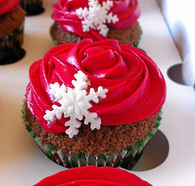 'Cupcake' navideño