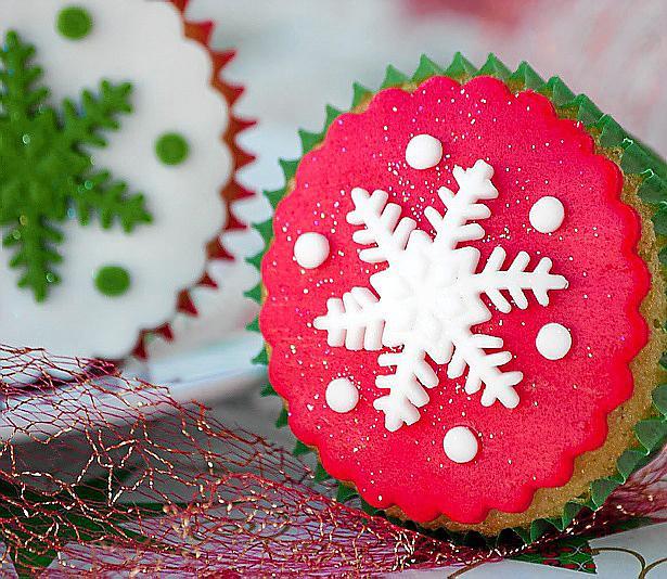 'Cupcakes' para endulzar la Navidad