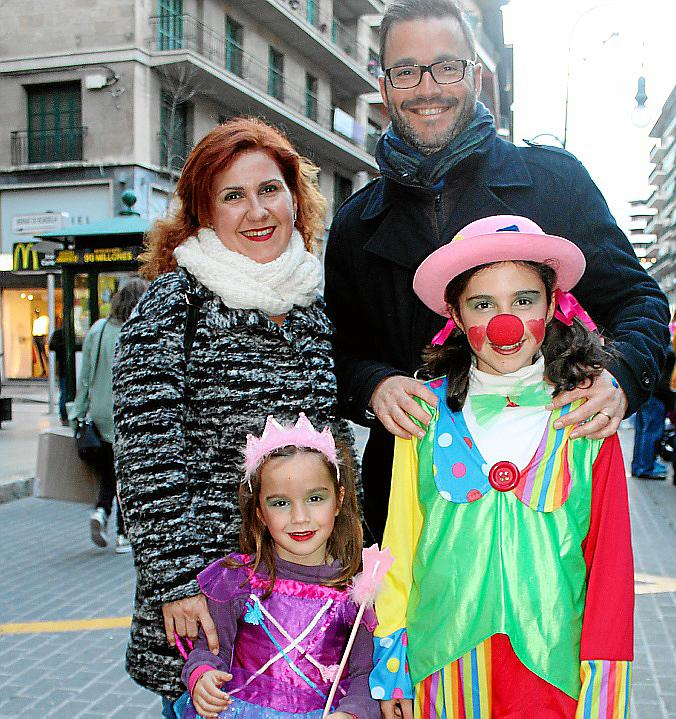 Las calles de Palma se visten de Rúa