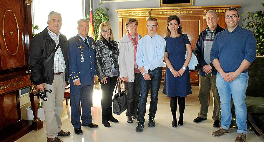 Entrega de premios del concurso 'Carta a un militar español'