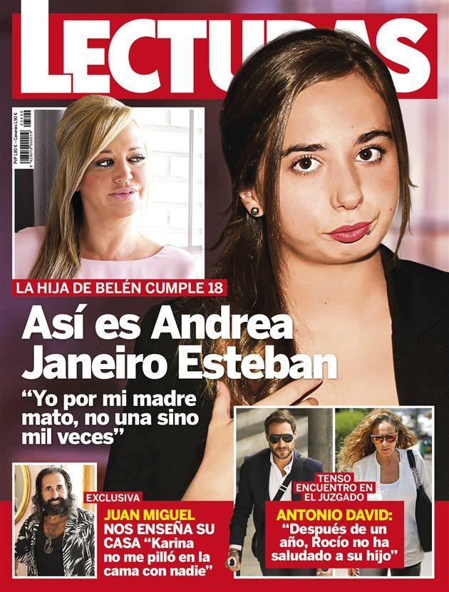 f6ee7a28a04 Así es Andrea Janeiro, hija de Belén Esteban y Jesulín de Ubrique