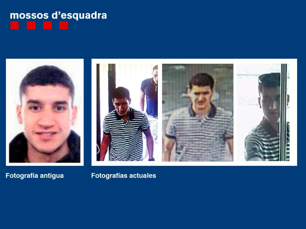 Los Mossos piden colaboración ciudadana para localizar a Younes Abouyaaqoub