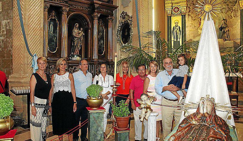 Visita al Llit de la Mare de Déu de la iglesia dels Socors