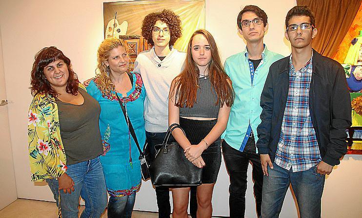 Exposición colectiva de la escuela de Malena Tous