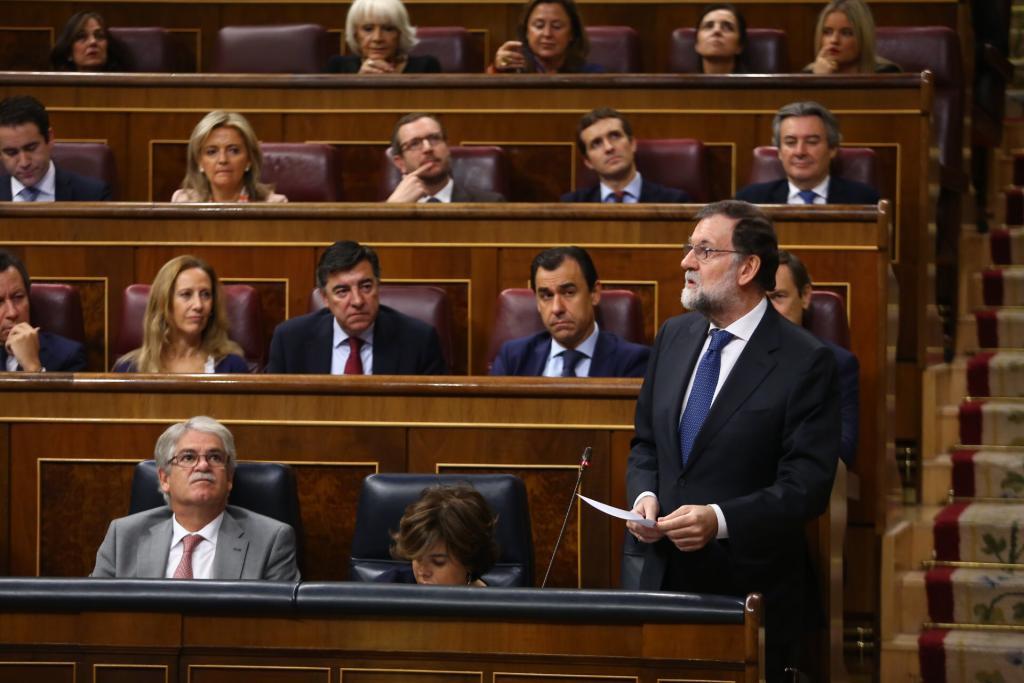 Rajoy afirma que el Gobierno quiere elecciones en Cataluña l
