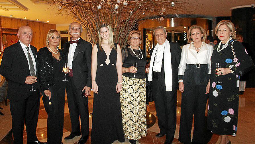 Cena de Navidad del Skal Club en el Melià Victoria
