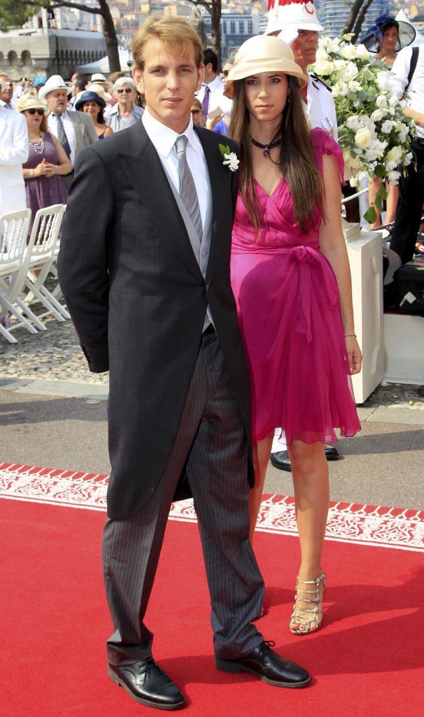 La alfombra roja  de los Grimaldi en Mónaco