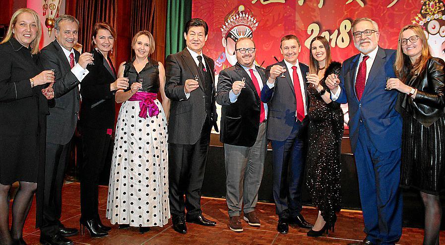 Celebración del Año Nuevo chino en el Valparaíso