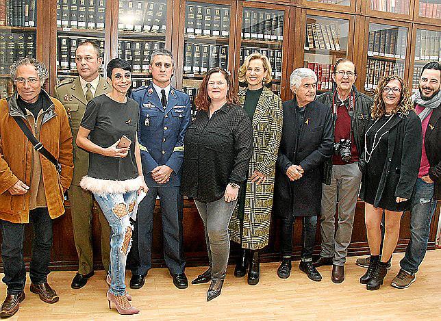 Inauguración de 'Fotos con Historia, en ruta por Mallorca' en una noche para concienciar