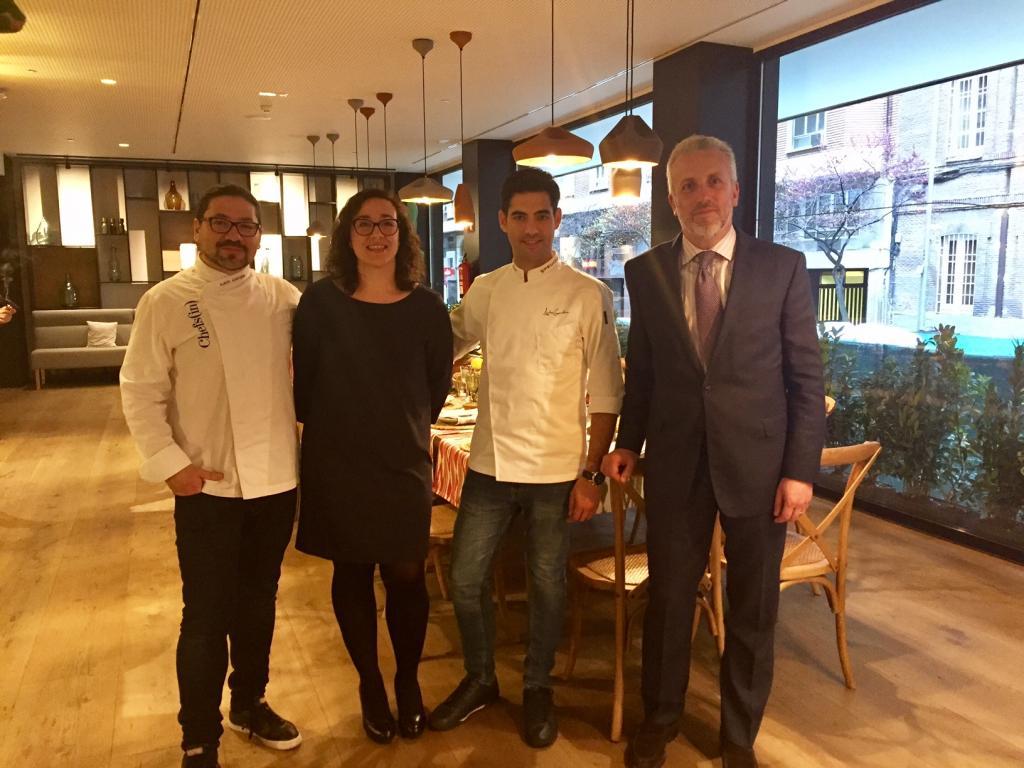 Palma Se Presenta En Madrid Como Un Destino Gastronmico Acto Protagonizado Por Cocineros Con Estrella Micheln