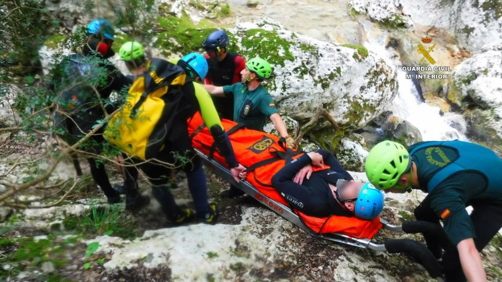Nuevo rescate en el torrente de Coanegra
