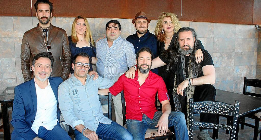 Gala flamenca homenaje al pintor José Luis Mesas