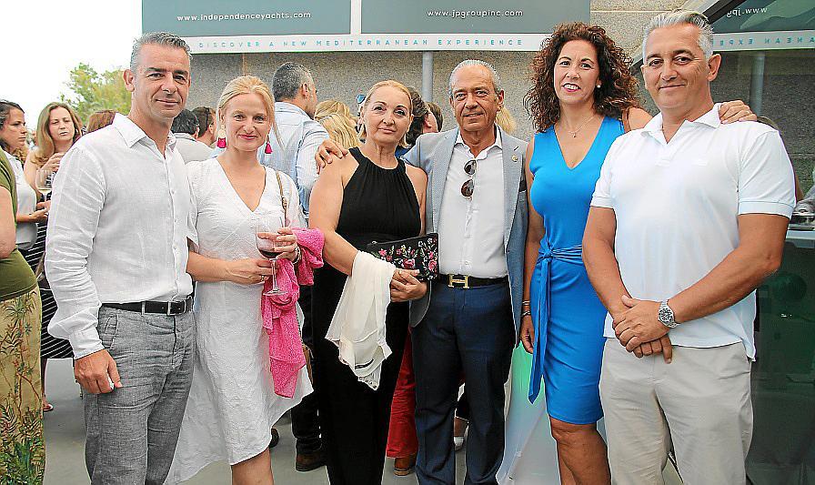 Inauguración de las renovadas instalaciones de Independence Yacht en Porto Pi