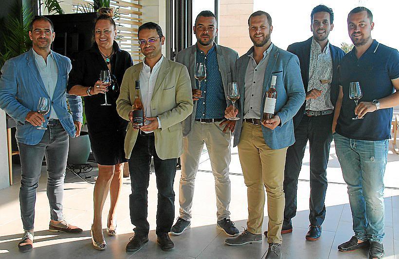 Presentación de los vinos de Figuière en el Hotel Llaut