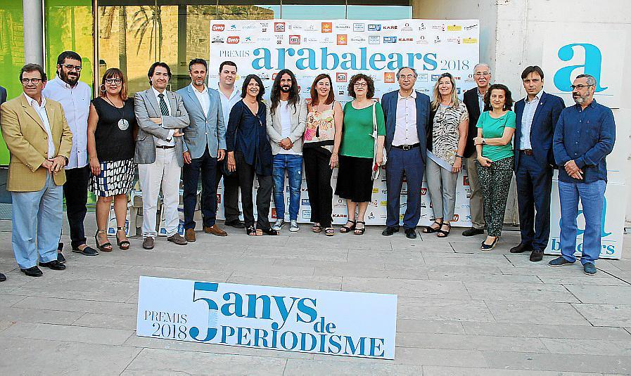 Entrega de los Premis Ara Balears en su V aniversario
