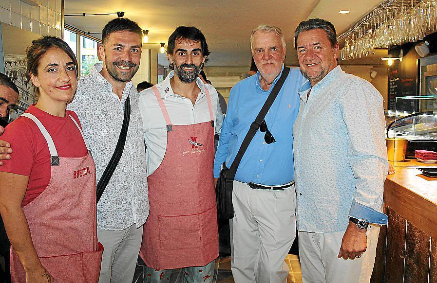 Inauguración del restaurante Bretxa
