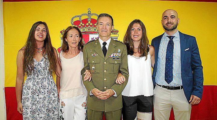 Toma de posesión del nuevo delegado de Defensa en Balears