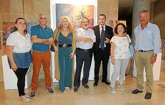 Exposición de Juan Manuel Pastor en la sede de laTesorería de la Seguridad Social