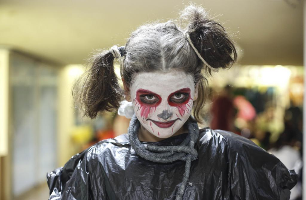 Fiestas de Halloween y túneles del terror para todos.