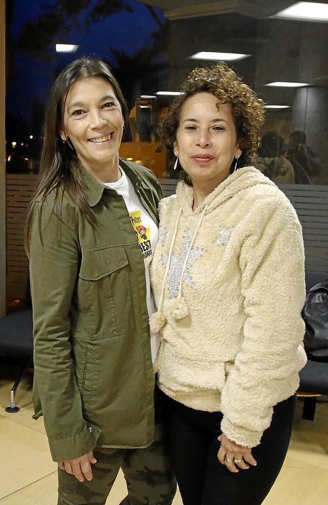 Sara del Mar García y Antonina Ricaurte, representantes de las 'kellys'.