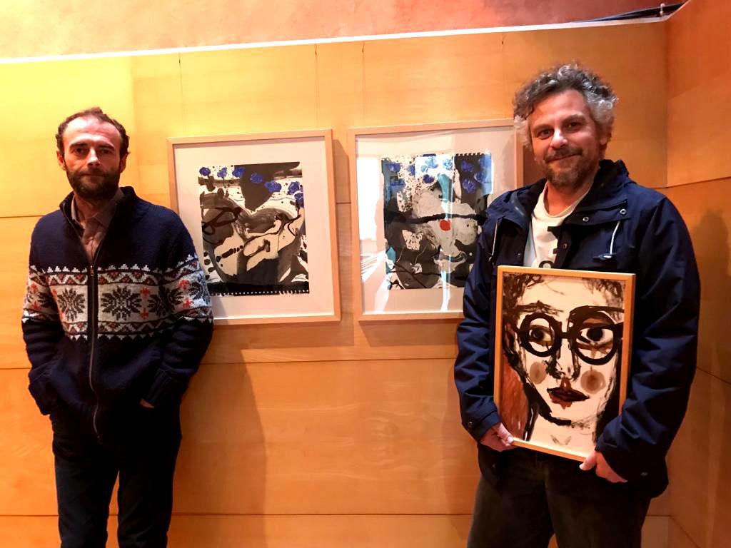 Miquel Serra y Javier García Lerín