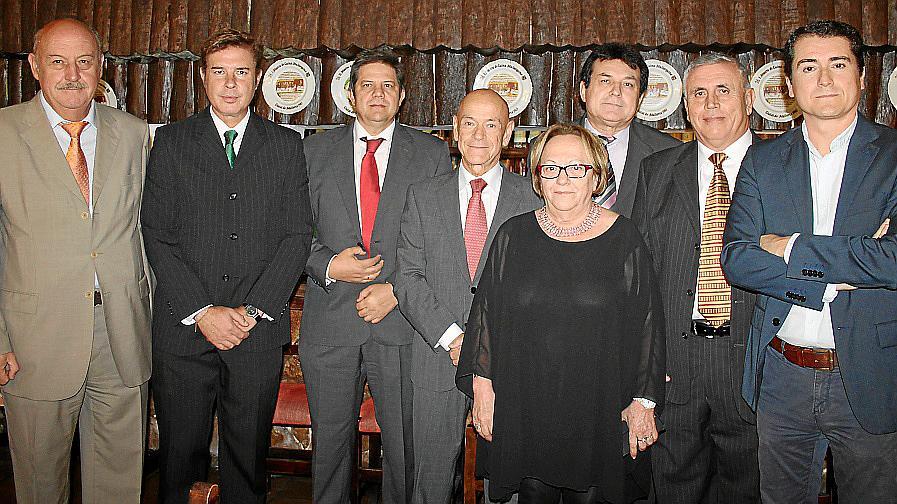 Despedida de Antonio Emilio Jarabo, exjefe superior de Policía