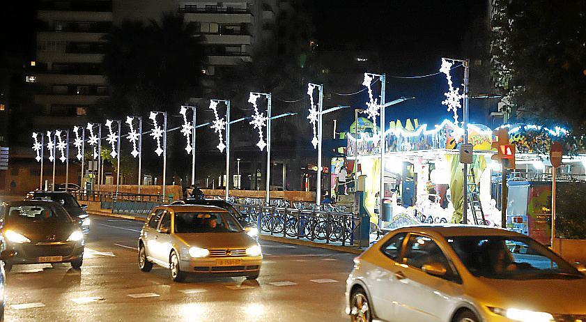 Iluminación navideña en Palma