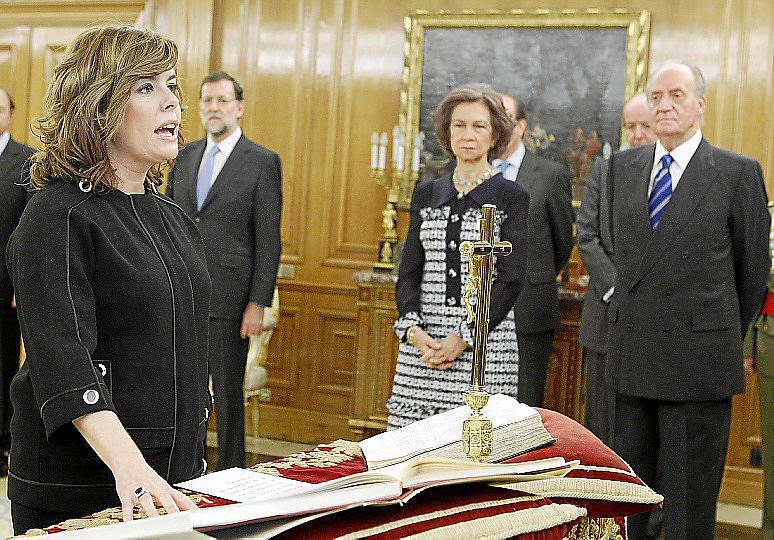 Sáenz de Santamaría coordinará todo el Gobierno y dirigirá los servicios secretos