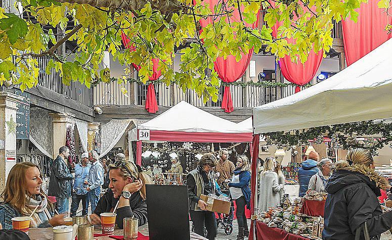 Mercado de Navidad en Mallorca: El mercadillo navideño del Pueblo Español de Palma abre sus puertas