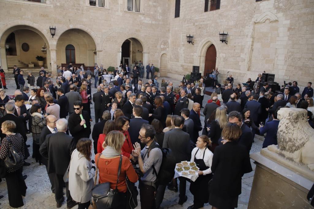 Día de la Constitución en el Palacio de La Almudaina de Palma