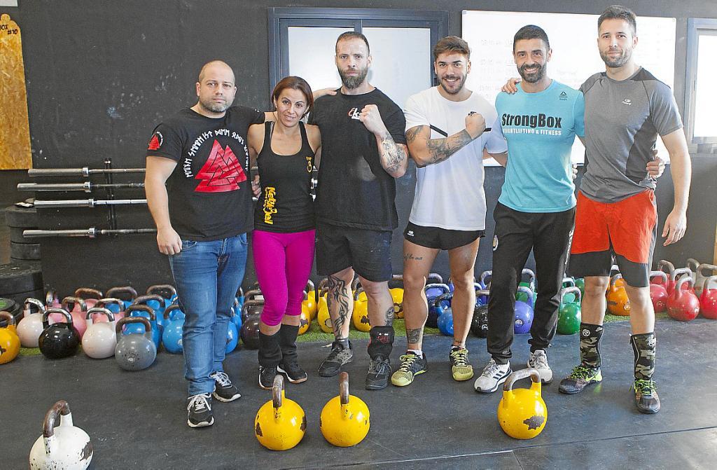 Juanjo, Rosa, Raúl, Jorge, Alain y Pau, acaban de regresar del Mundial