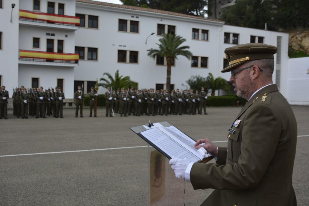 Coronel Víctor Pujol, mando del regimiento Palma 47.