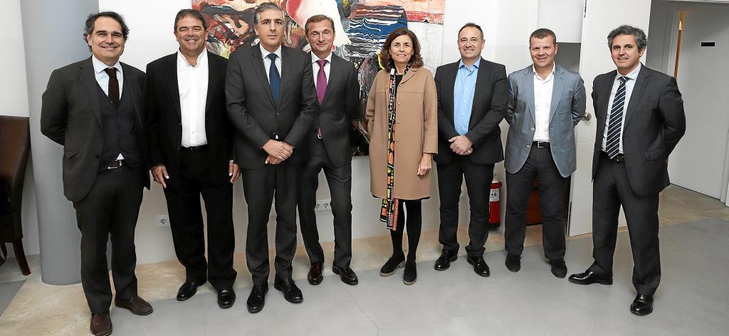 Reunión de El Económico con BBVA y representantes de empresas de Balears
