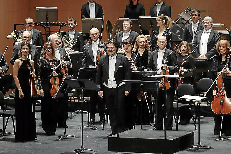 PALMA - CONCIERTO DE LA Orquestra Simfònica de les Illes Balears FOTO: BOTA
