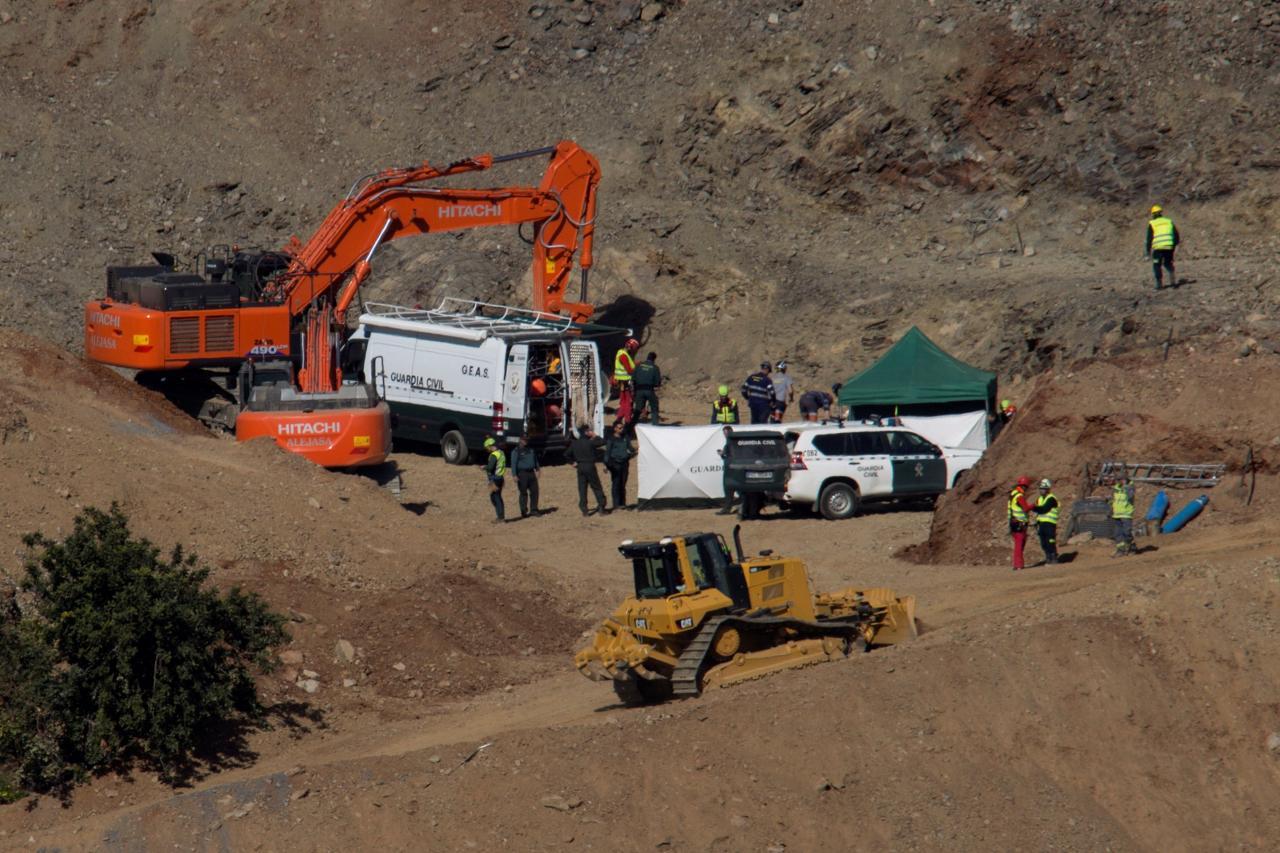 Los mineros, al rescate de Julen