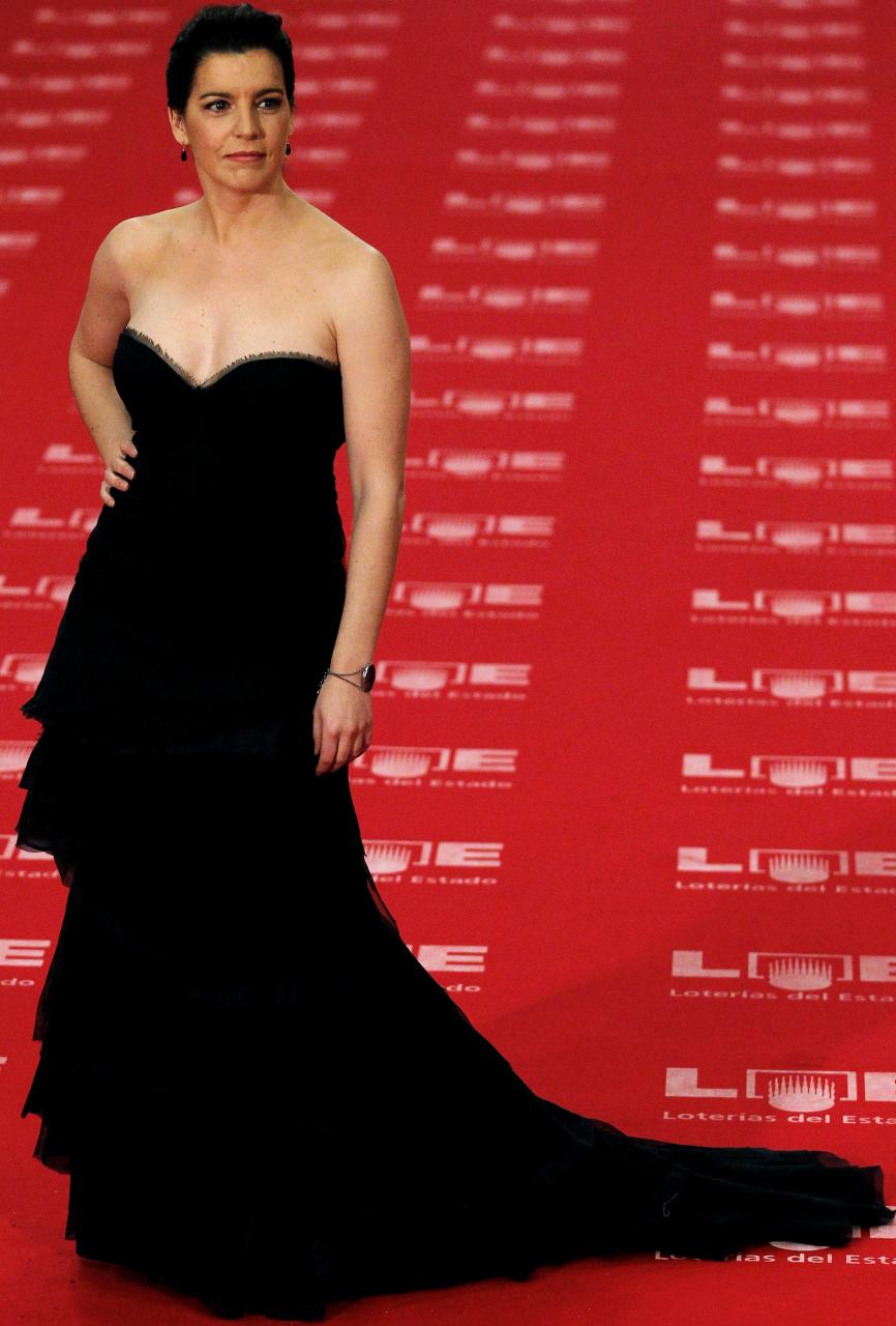 MADRID. CINE. La actriz Laia Marull en la Gala de los Premios Goya 2010.