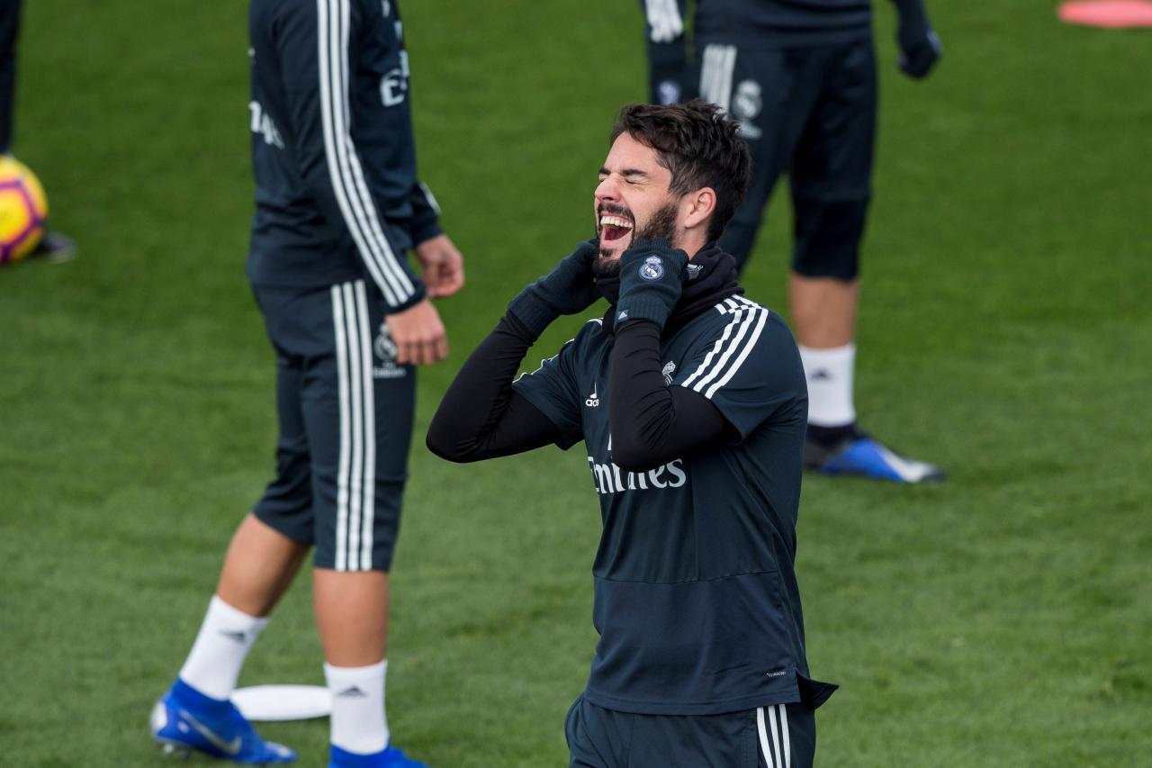El centrocampista del Real Madrid Francisco Alarcón