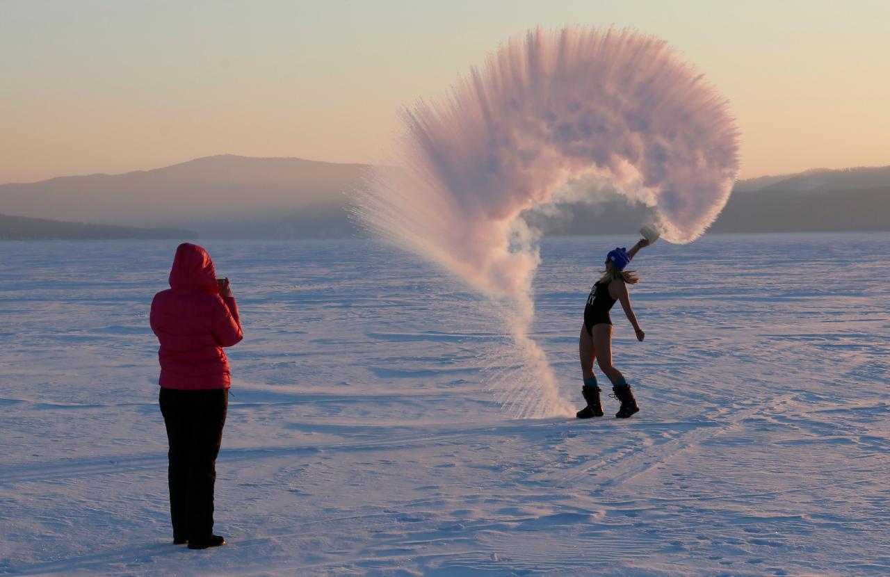 Dubak Water, un nuevo y peligroso reto viral