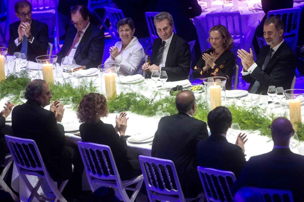 Resultado de imagen de rey felipe cena mobile congress